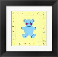 Framed Alphabet Animals I