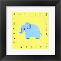 Framed Alphabet Animals II