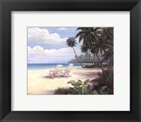Framed Tropical Bliss