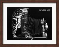 Framed Explore Art