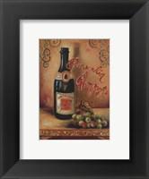 Framed Ponsardin Champagne