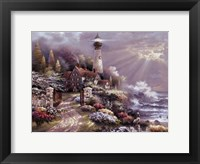 Coastal Splendor Framed Print