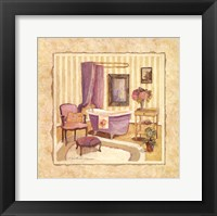 Romantic Bath I Framed Print
