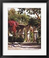 Framed Sunlit Archway