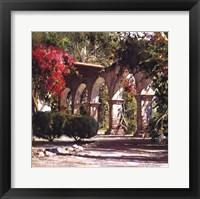 Framed Sunlit Archway (detail)