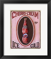 Framed Cherry Cream