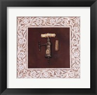 King's Screw 1800'S - border Framed Print