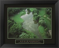 Framed Achievement - Golf Course