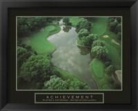 Framed Achievement - Golf Course