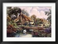 Framed Village Of Dorset