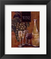 Framed World Of Wine II
