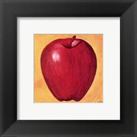 Framed Apple on Lemon