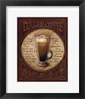 Framed Italian Coffee - Mini