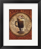 Framed Spanish Coffee - Mini