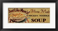 Framed Chicken Noodle Soup