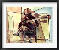 Framed Little Musician