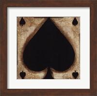 Framed Spades