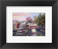 Framed Pheasant River Bridge