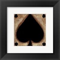 Spades Framed Print