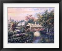 Framed Pheasant River Bridge