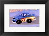 Framed Racecar