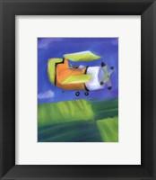 Bi Plane Framed Print
