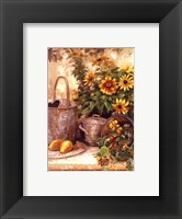 Framed Sunflower Garden II