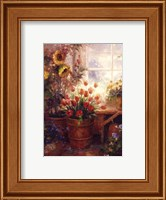 Framed Sunflower Garden I