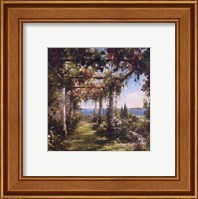 Framed Juliet's Garden I