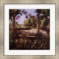 Framed Juliet's Garden II