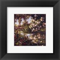 Framed Juliet's Garden III