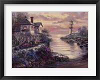 Framed Lighthouse Point
