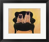 Framed Katie And Daisy The Pugs