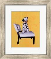 Framed Riley The Dalmatian Puppy