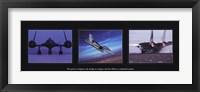 Framed Military Planes