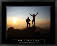 Framed Encouragement - Climbers