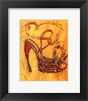Framed Sassy Sarah Shoe