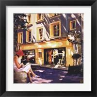 Framed Trattoir Parisien