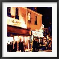 Framed Paris La Nuit
