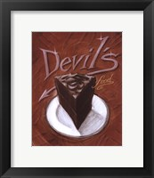 Framed Devil's Food