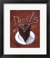 Framed Devil's Food
