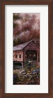 Framed Razzberry Creek Panel I