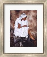 Framed Lady In White