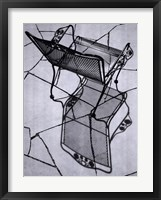 Eloquent Chair I Framed Print