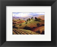 Framed Tuscan Afternoon