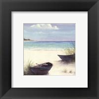 South Coral Beach Framed Print