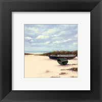 West Wind Beach Framed Print