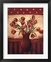 Framed Red Tulips - Grande