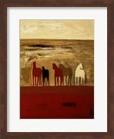 Framed 5 Ponies