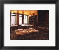 Framed Interieur Auberge Ravoux
